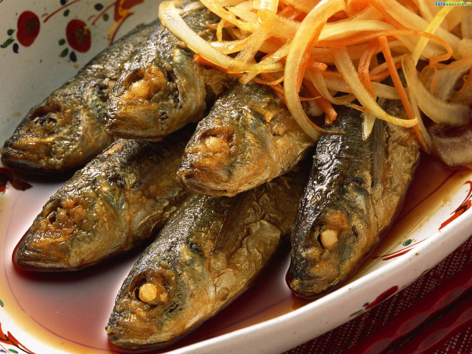 Салака на мангале рецепт